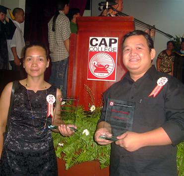 Ervin Reyes, CAP College Top Alumnus