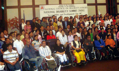 MCCID joins 1st National Disability Summit