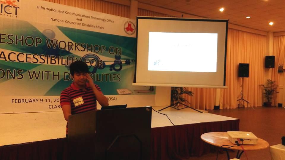 MCCID Deaf Teacher Lectures in ICT Writeshop
