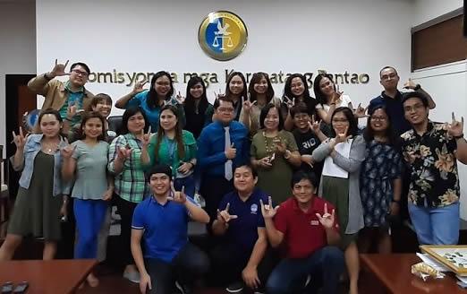 MCCID Trains CHR Personnel on Basic FSL and Deaf Sensitivity