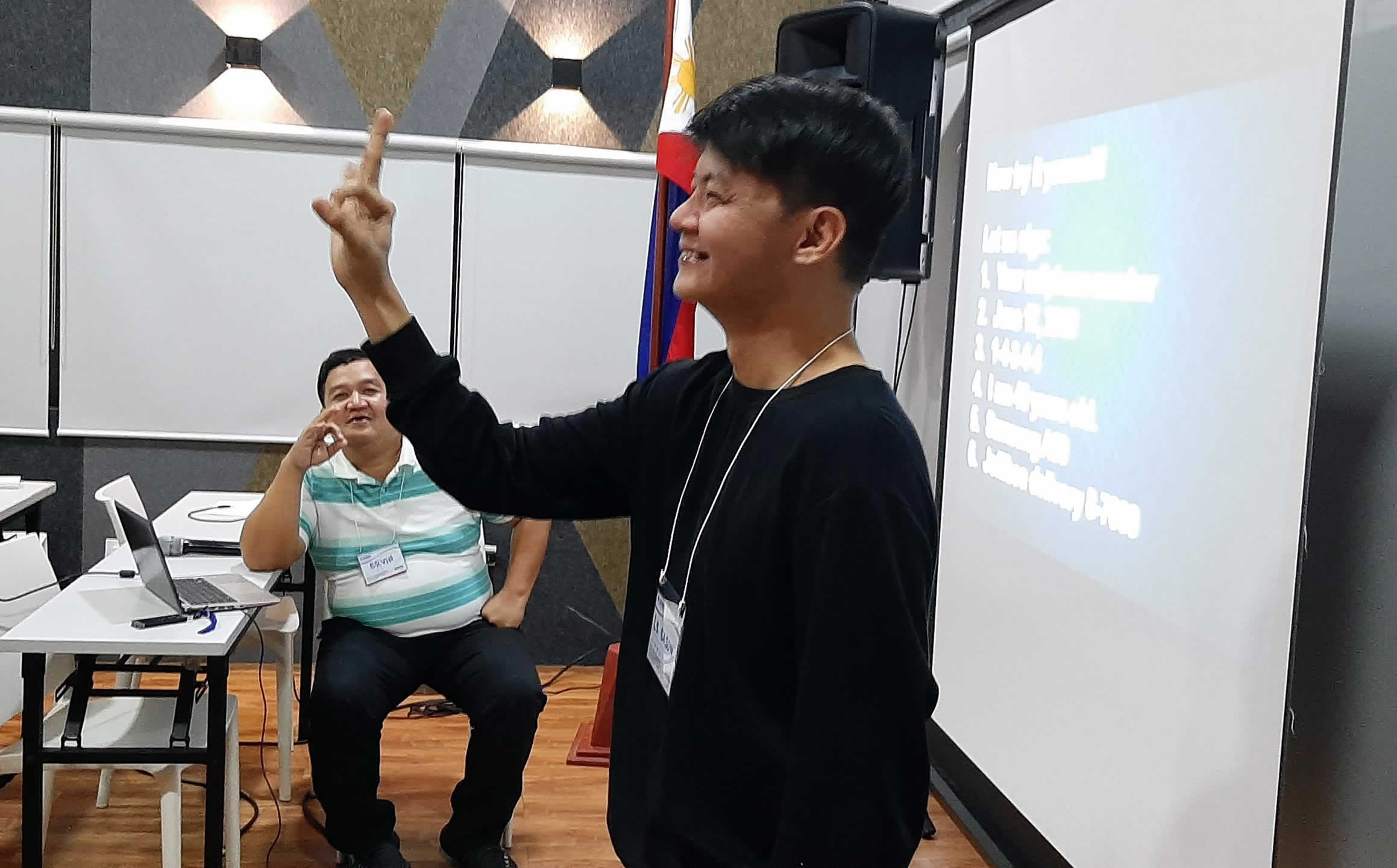 MCCID Conducts Basic Sign Language Training to DSWD Central Office Staff